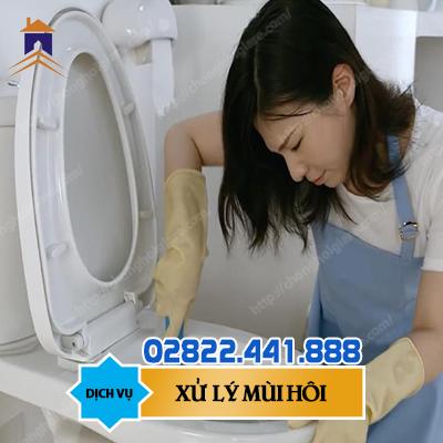 Khử mùi hôi Toilet 1