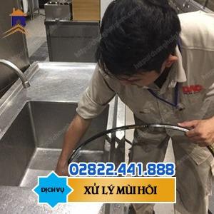 Đơn vị xử lý mùi hôi hố ga Hồ Chí Minh uy tín 0