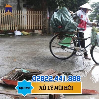 Đơn vị xử lý mùi hôi hố ga Hồ Chí Minh uy tín 2