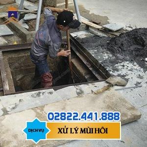 Xử lý mùi hôi nước thải thành phố Hồ Chí Minh 0